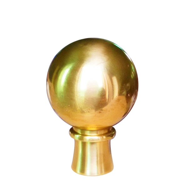 Golden Brass finial