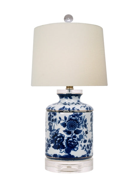 Blue and White Chrysanthemum table lamp