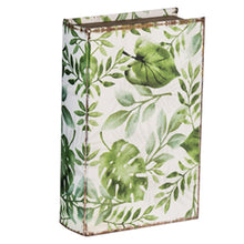Load image into Gallery viewer, Green Leaves Book Box - Large
