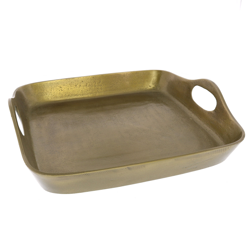 Brass Square Tray (Large)