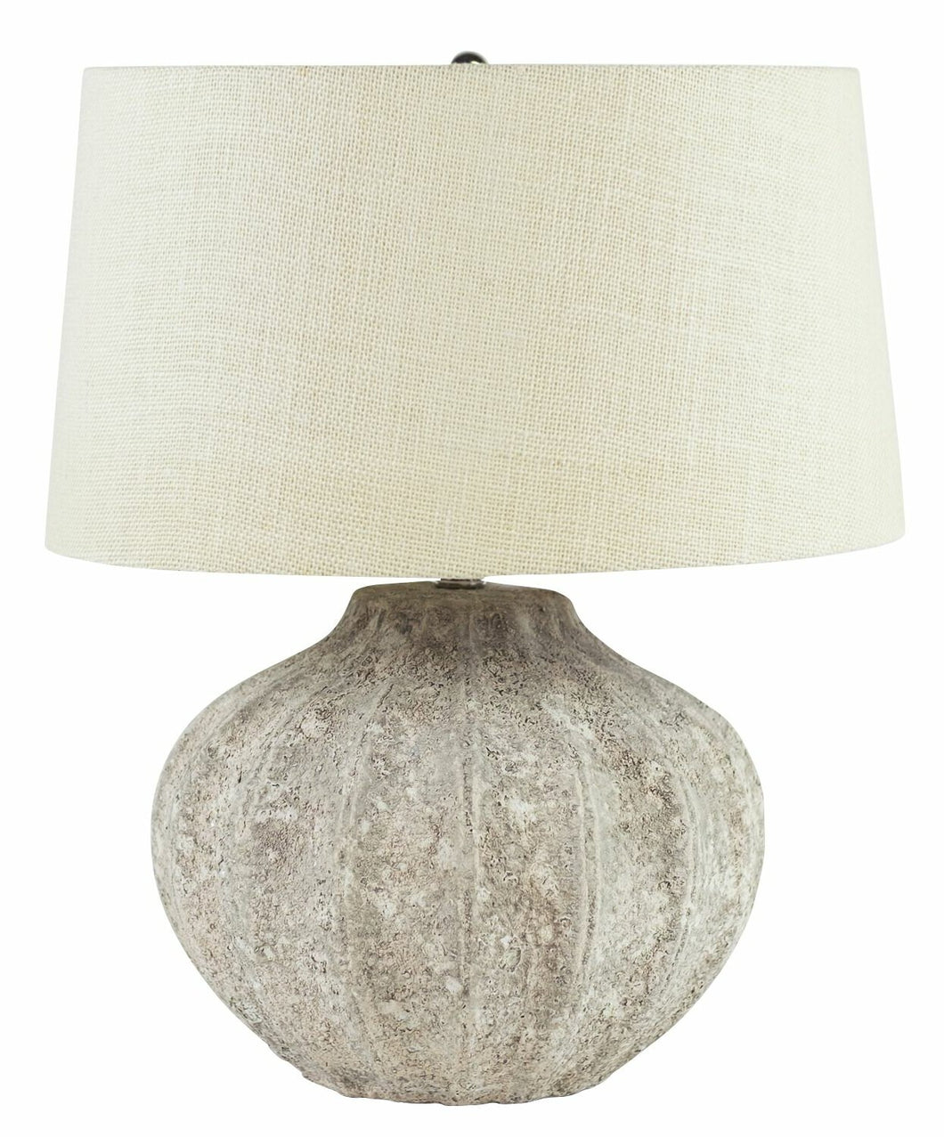 Cement Bowl table lamp