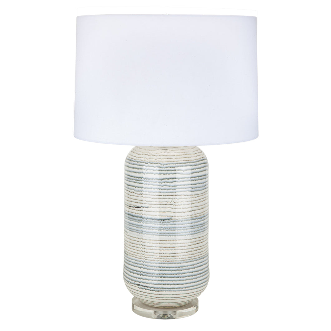 Chai Latte Rings table lamp