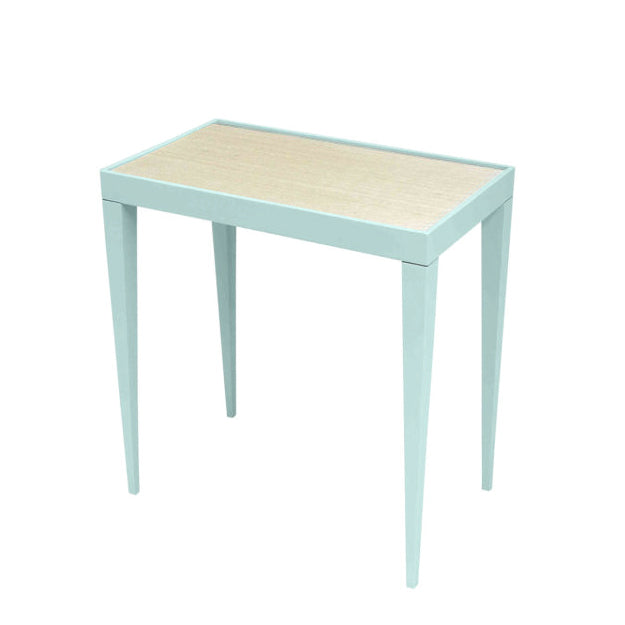 Dallas Rectangular Side Table - Blue Sky