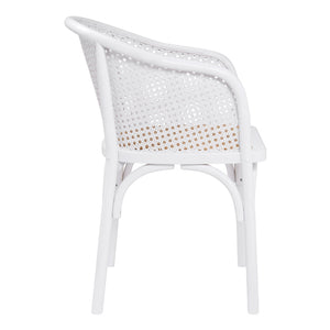Elsy Arm Chair - White