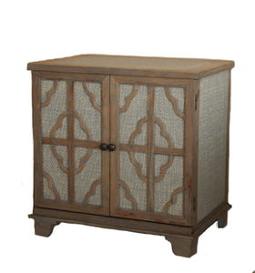 Fairfax rattan nightstand