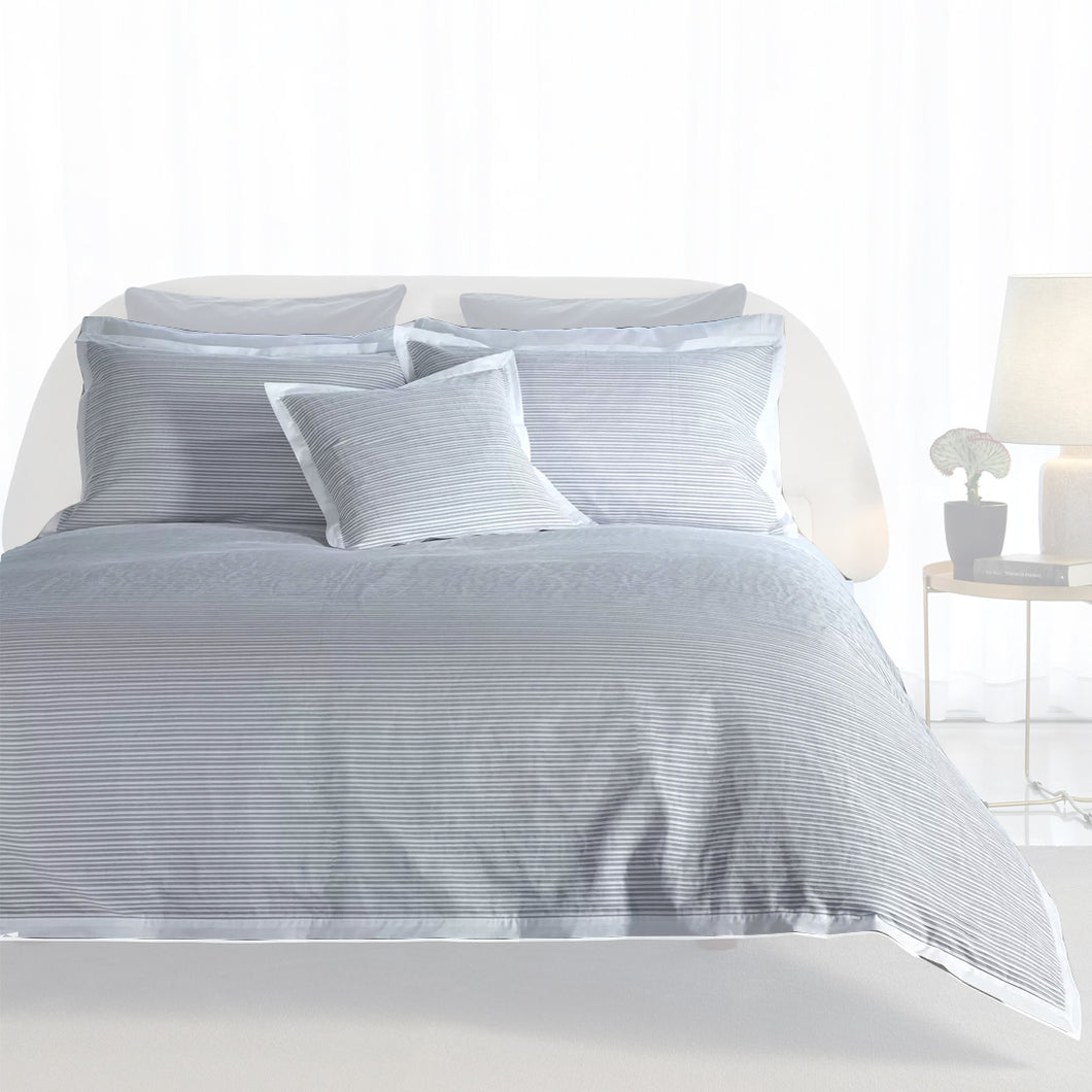 Luna Grey Duvet Cover