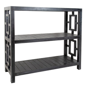 Madison Black Wash Shelving