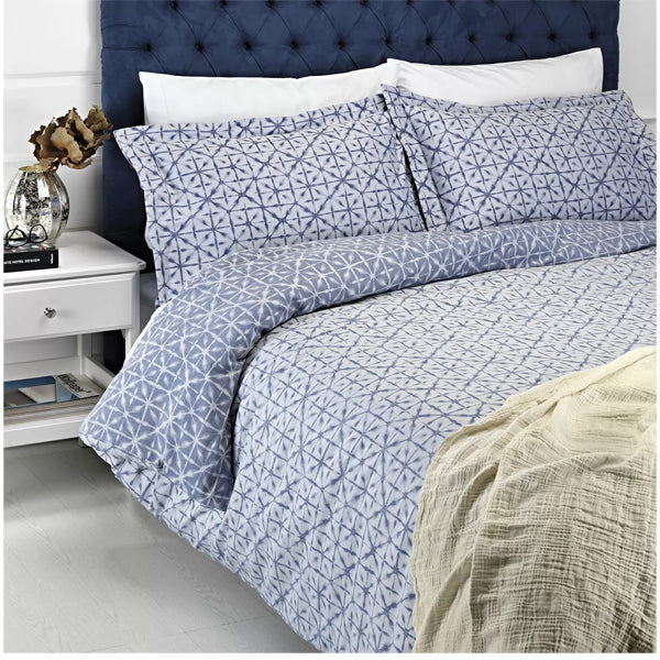 Manthro Blue Duvet Cover