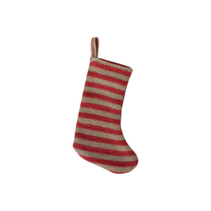 Miniature Christmas Stocking - Red