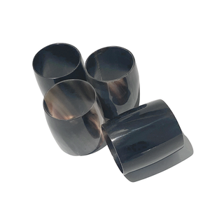 Horn Napkin Ring Set