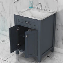 "Load image into Gallery viewer, Norwalk 24"" Single Vanity, Grey"