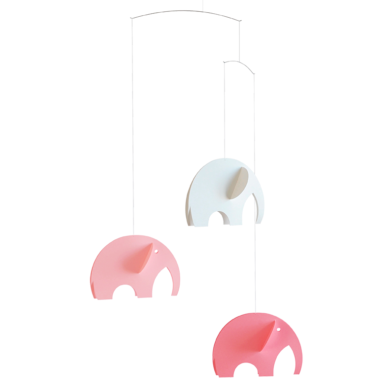 Olephant Mobile - Pink