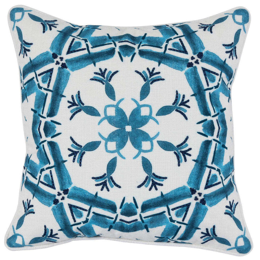 Parisian Blue pillow 18 x 18