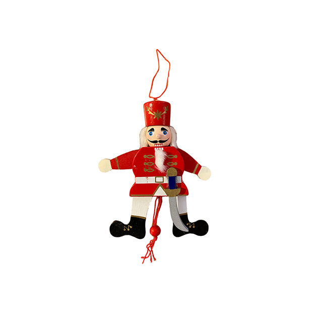 Pull Puppet Ornament - Red Prince
