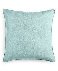 100% Linen Sea Foam Green pillow 18 x 18