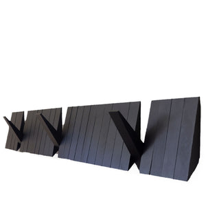 Switchboard Coat Rack, Black