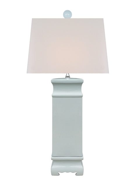 Palladian Pale Blue Square lamp