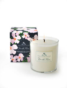 Vanilla Fleur Scented Candle