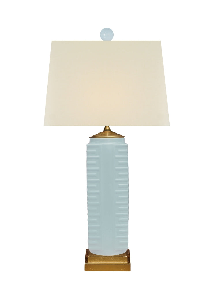 Palladian Soft Blue/Green table lamp