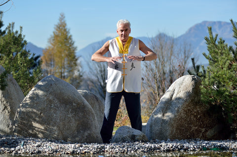 Peter Mayer, Hotelinhaber des Panorama Royal und Qi-Gong Meister