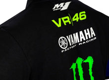 Load image into Gallery viewer, Yamaha Rossi Monster Black Polo