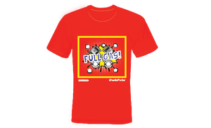 Tshirt cubprix Full Gas Red/Blue/Black