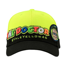 Load image into Gallery viewer, VALENTINO ROSSI ADULTS CUPOLINO VALEYELLOW46 CAP