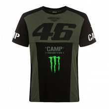 Load image into Gallery viewer, VR46 Man green t-shirt Monster Valentino Rossi