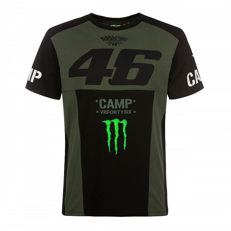 VR46 Man green t-shirt Monster Valentino Rossi