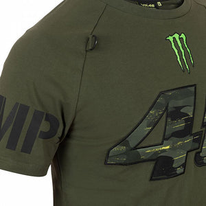 VR46 Official Valentino Rossi Monster Camp T Shirt