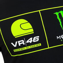 Load image into Gallery viewer, VR46 Official Valentino Rossi RIDERS ACADEMY MONSTER  T-SHIRT