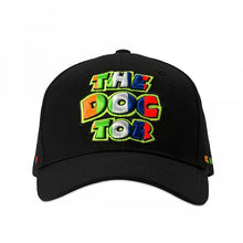 Load image into Gallery viewer, Valentino Rossi the doctor black stripes cap