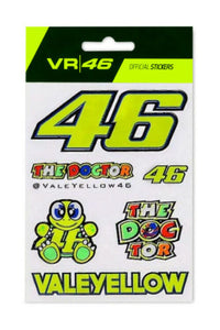 VR46 Small Sticker Set