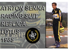 Load image into Gallery viewer, Ayrton Senna 1985 Replica Racing Suit