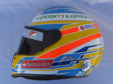 Load image into Gallery viewer, Fernado Alonso 2013 Replica Helmet
