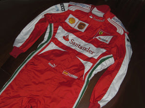 Fernando Alonso 2013 Replica Racing Suit