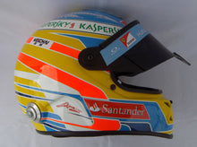 Load image into Gallery viewer, Fernado Alonso 2014 Replica Helmet
