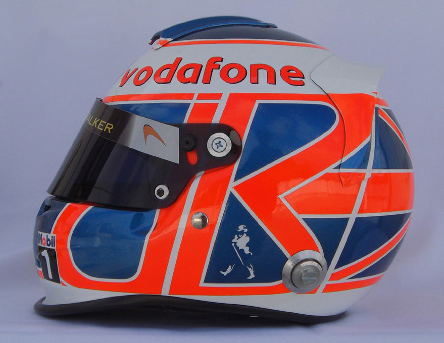 Jenson Button 2010 Replica Helmet