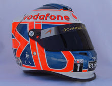 Load image into Gallery viewer, Jenson Button 2010 Replica Helmet