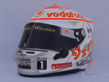 Load image into Gallery viewer, Jenson Button 2011 MONACO Replica Helmet