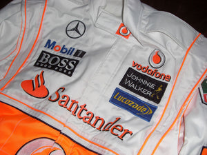 Jenson Button 2010 Replica Racing Suit