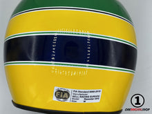 Load image into Gallery viewer, Ayrton Senna 1991 Replica Helmet