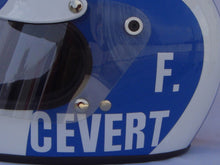 Load image into Gallery viewer, Francois Cevert 1973 Replica Helmet