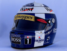 Load image into Gallery viewer, David Coulhard 1997 Replica Helmet