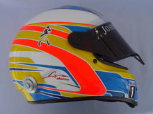 Load image into Gallery viewer, Fernado Alonso 2015 Replica Helmet