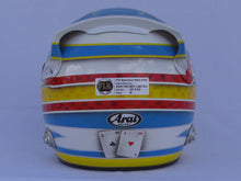 Load image into Gallery viewer, Fernado Alonso 2008 Replica Helmet