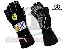 Load image into Gallery viewer, Sebastian Vettel 2020 Replica Racing Gloves