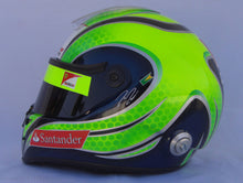 Load image into Gallery viewer, Felipe Massa 2011 Replica Helmet