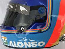 Load image into Gallery viewer, Fernado Alonso 2018 Replica Helmet