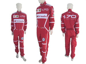 Sebastian Vettel 2017 MONZA GP Replica Racing Suit